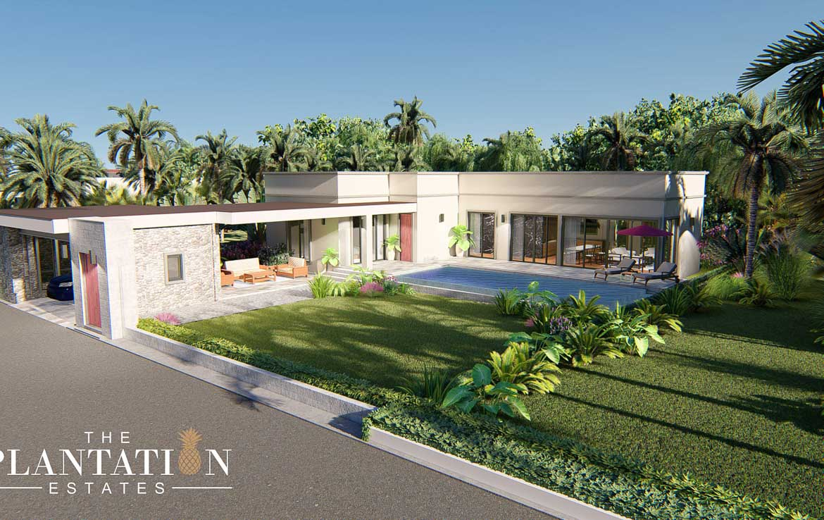 The Plantation L Type 3 Bed 3 Bath Villa