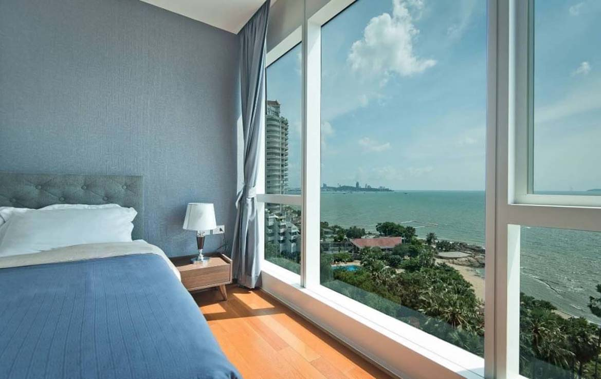 The Palm – 1 Bed 1 Bath Sea View